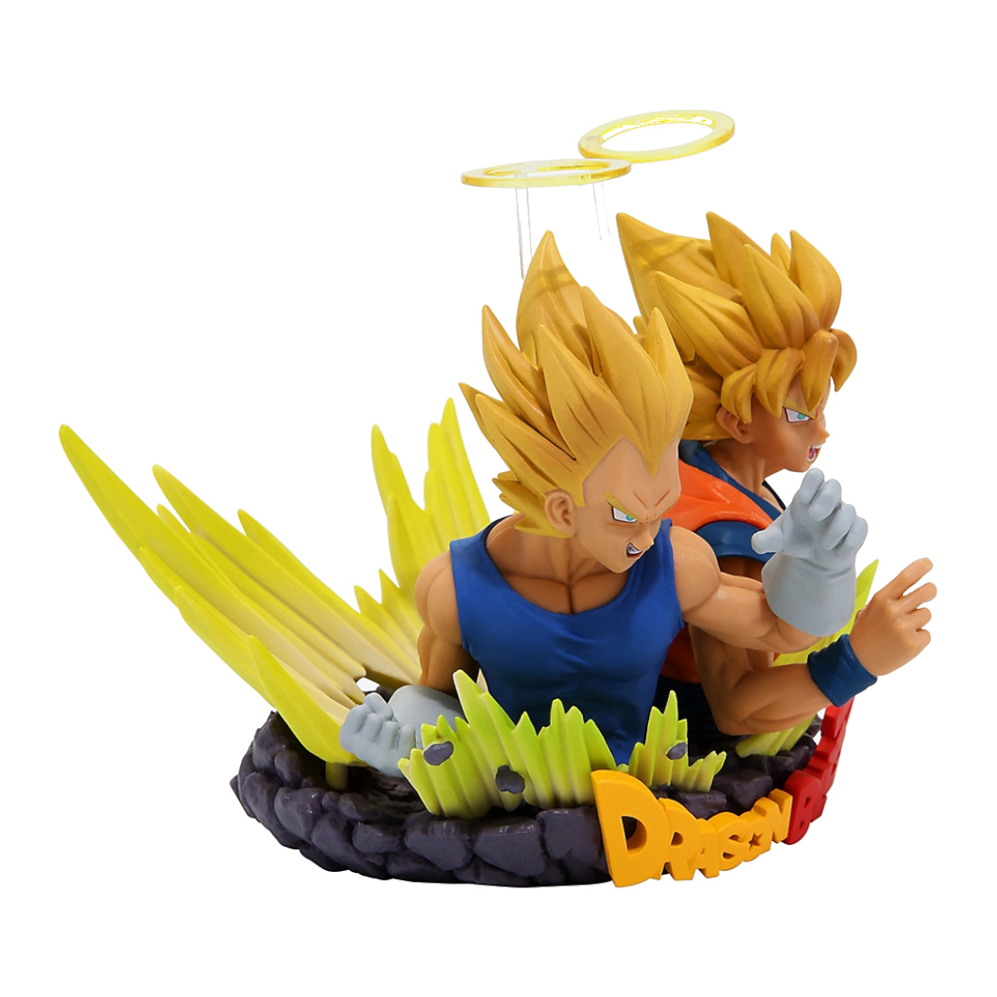 Banpresto Dragon Ball Z Com: Figuration Vol. 2 Super Saiyan Vegeta & Goku