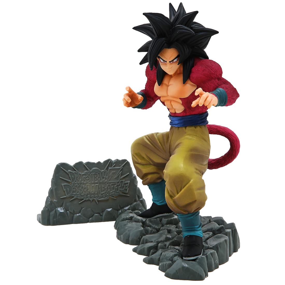 Banpresto Dragon Ball Z: Dokkan Battle Anniversary Figure Super Saiyan 4 Son Goku