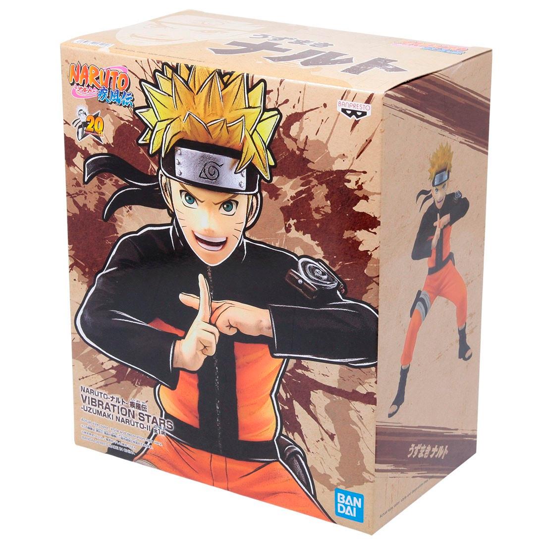 Banpresto Naruto Shippuden Vibration Stars Vol. 2 Uzumaki Naruto