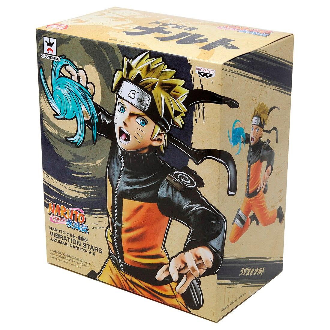 Banpresto Naruto Shippuden Vibration Stars Vol. 4 Uzumaki Naruto