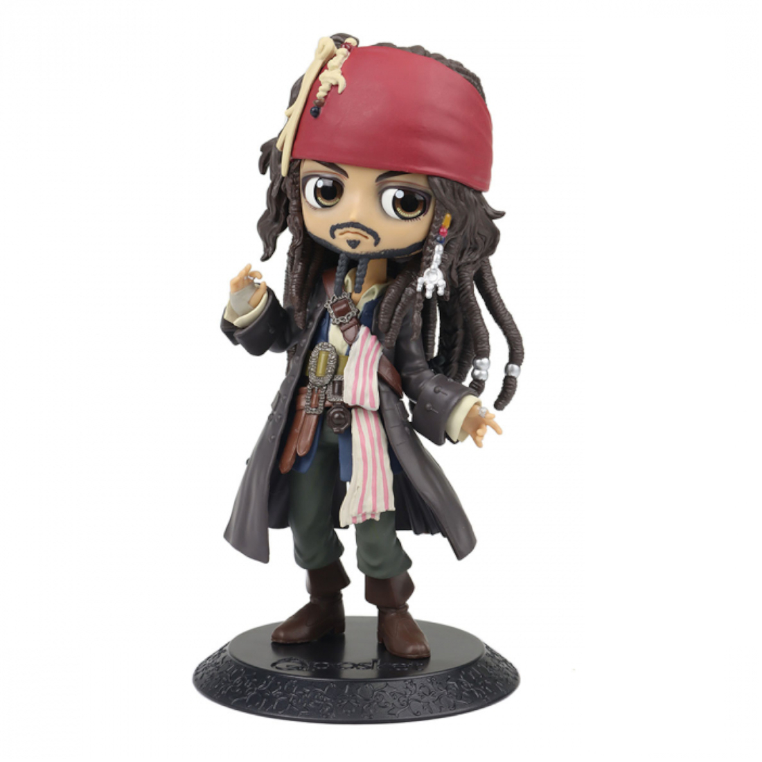 Banpresto Pirates of the Caribbean Qposket Jack Sparrow