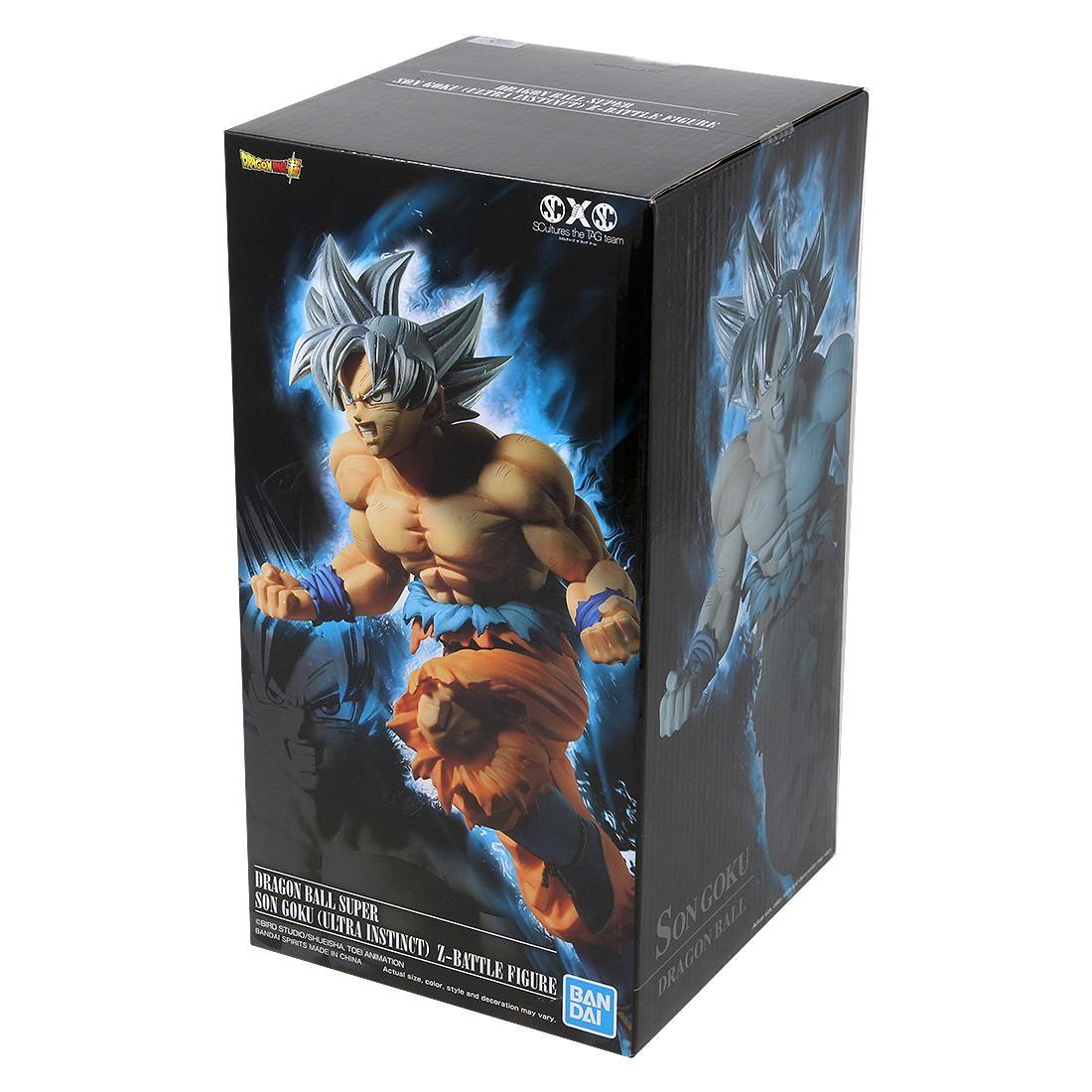 Banpresto The Movie Dragon Ball Super Broly SCultures The TAG Team Son Goku Ultra Instinct Z-Battle Figure