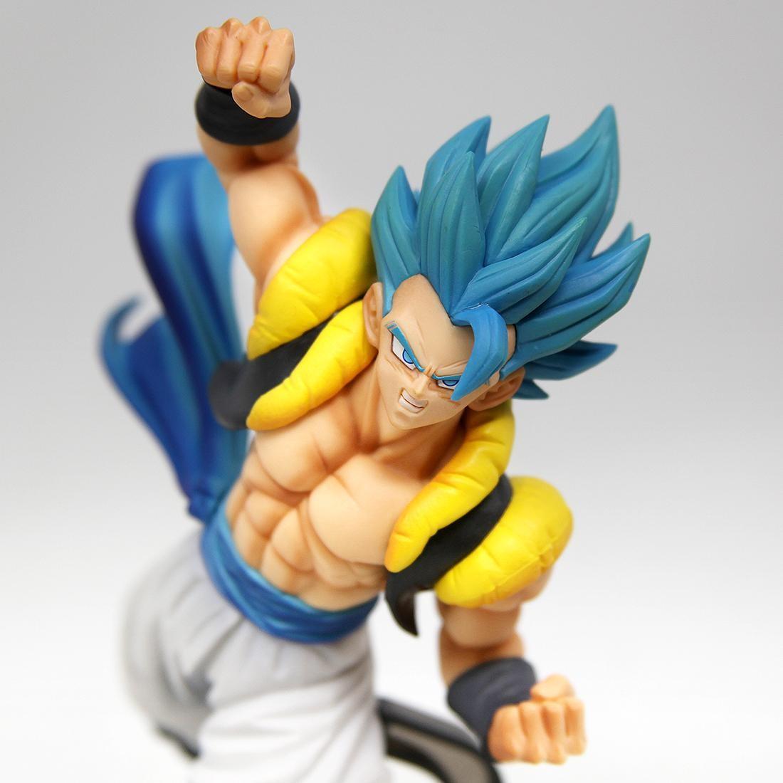 Banpresto The Movie Dragon Ball Super Broly SCultures The TAG Team Super Saiyan God Super Saiyan Gogeta Z-Battle Figure