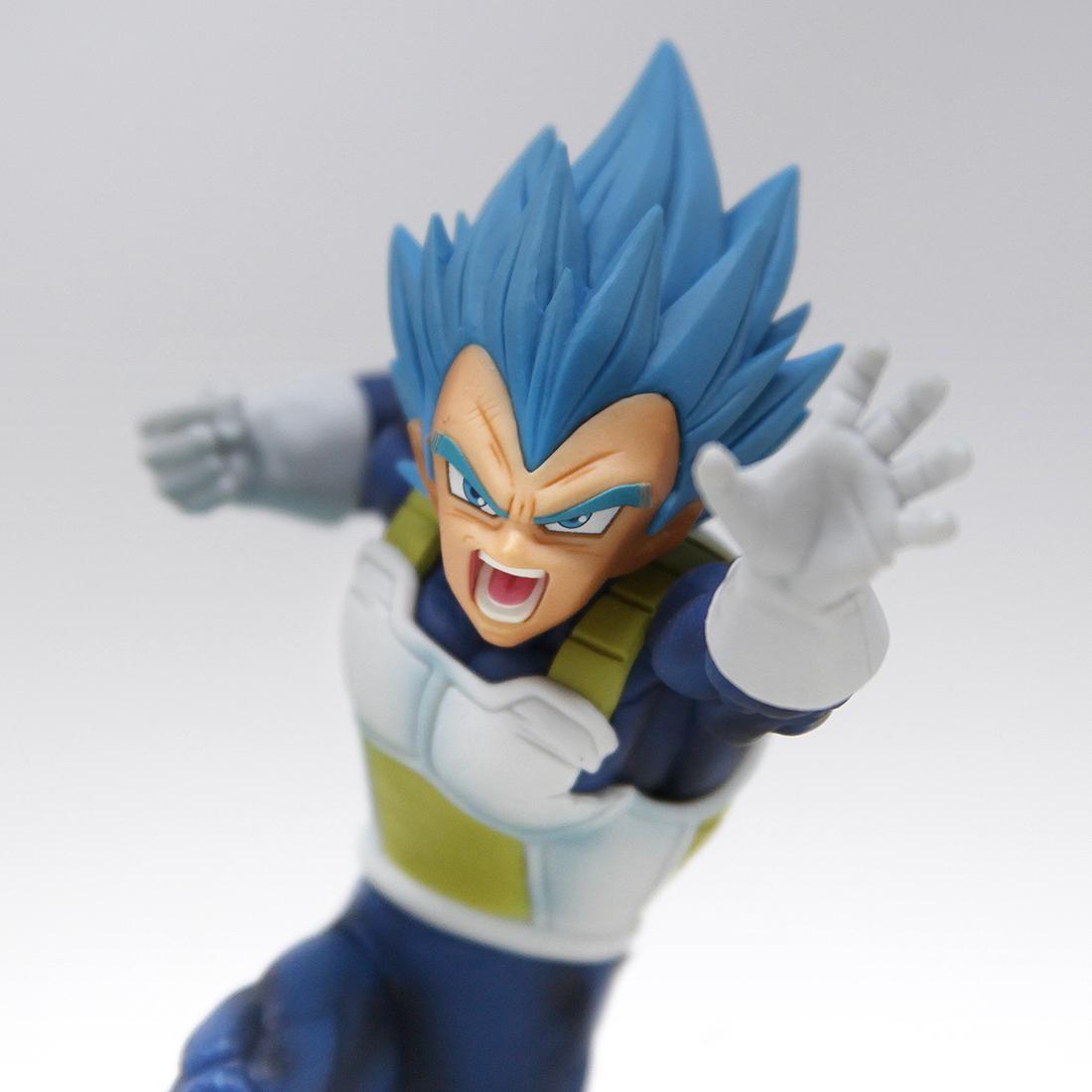 Banpresto The Movie Dragon Ball Super Broly SCultures The TAG Team Super Saiyan God Super Saiyan Vegeta Z-Battle Figure