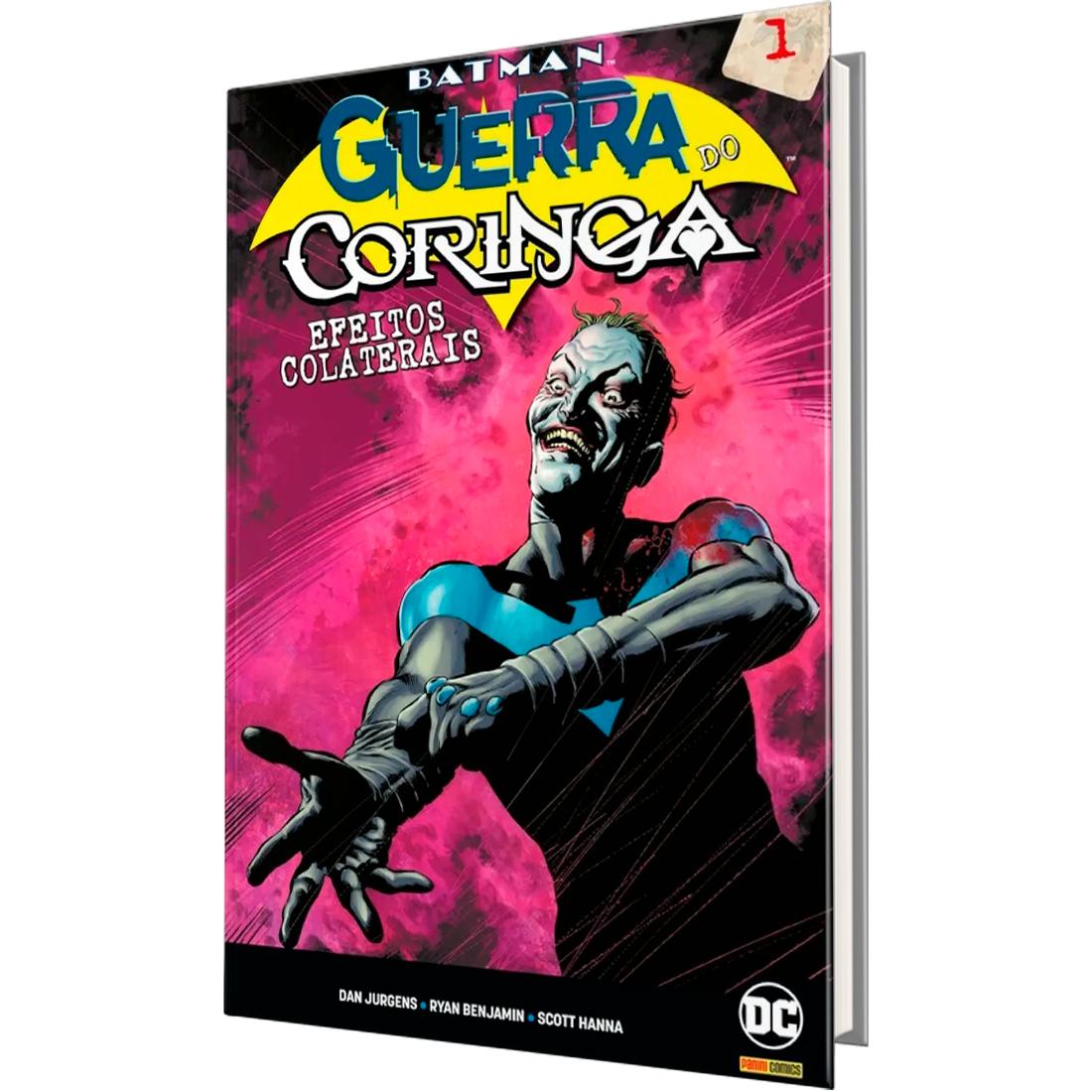 Batman - A Guerra do Coringa - Efeitos Colaterais Vol. 01
