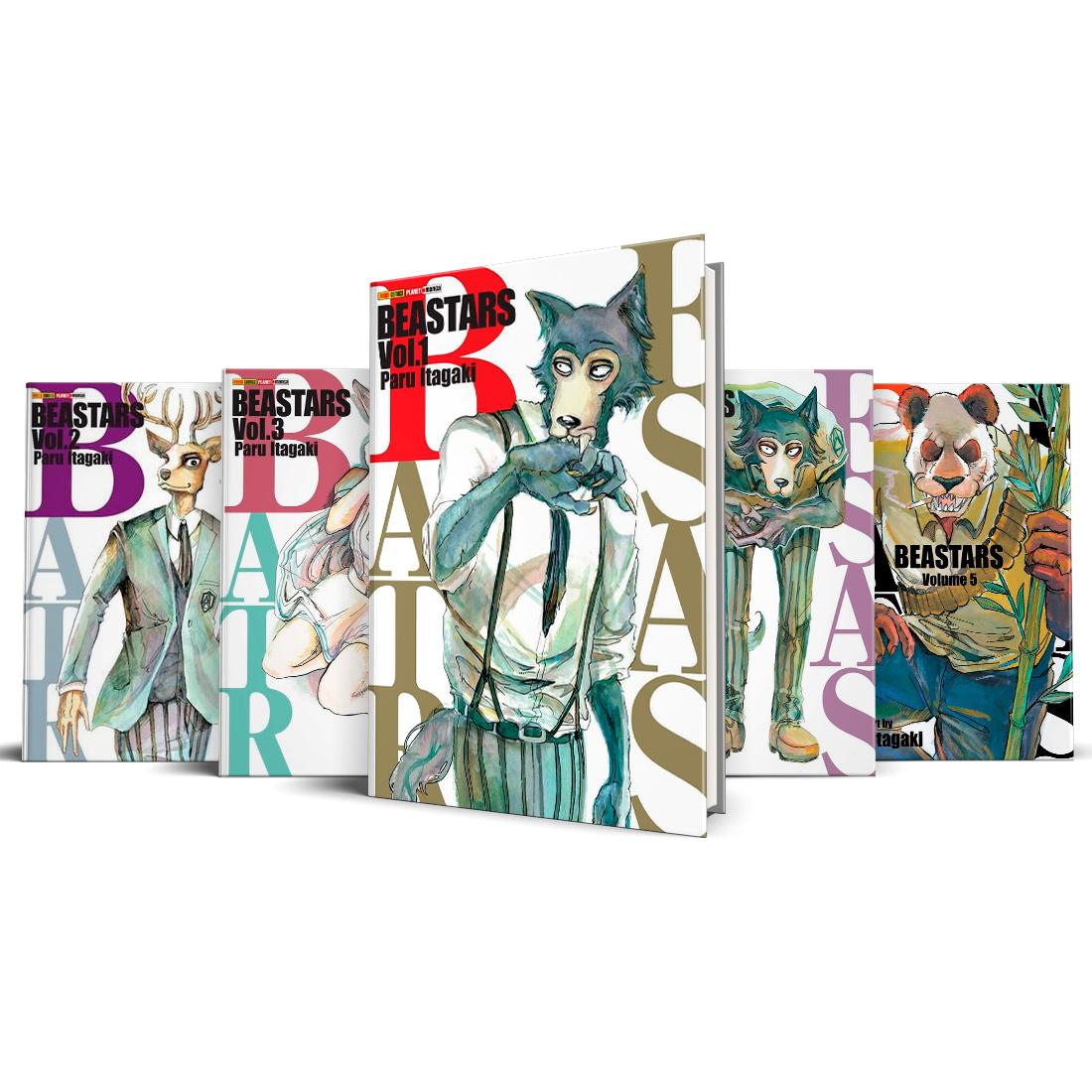 Box Beastars Vols. 1 ao 5