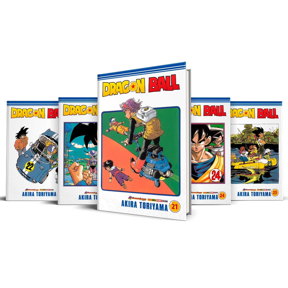 Box Dragon Ball Vols. 21 ao 25