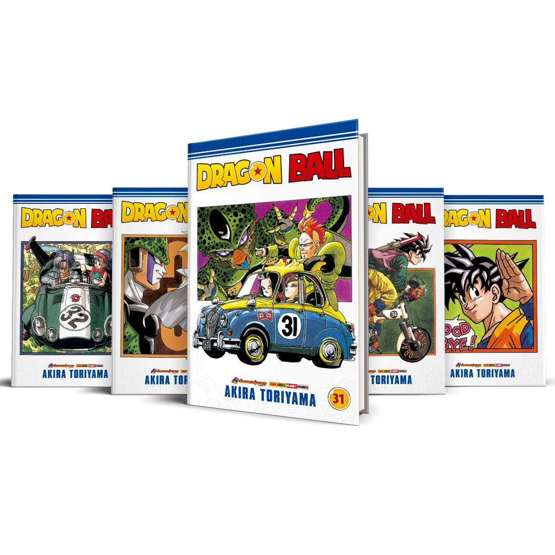 Box Dragon Ball Vols. 31 ao 35