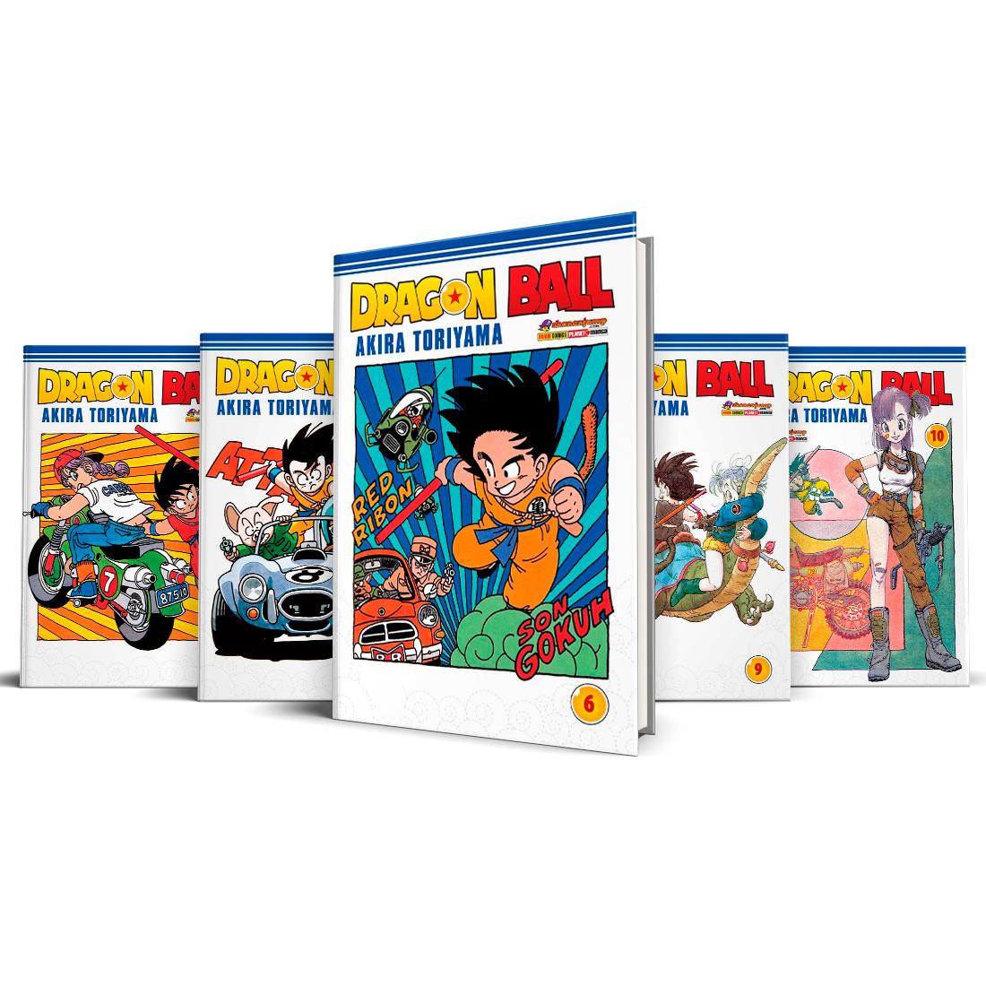 Box Dragon Ball Vols. 6 ao 10