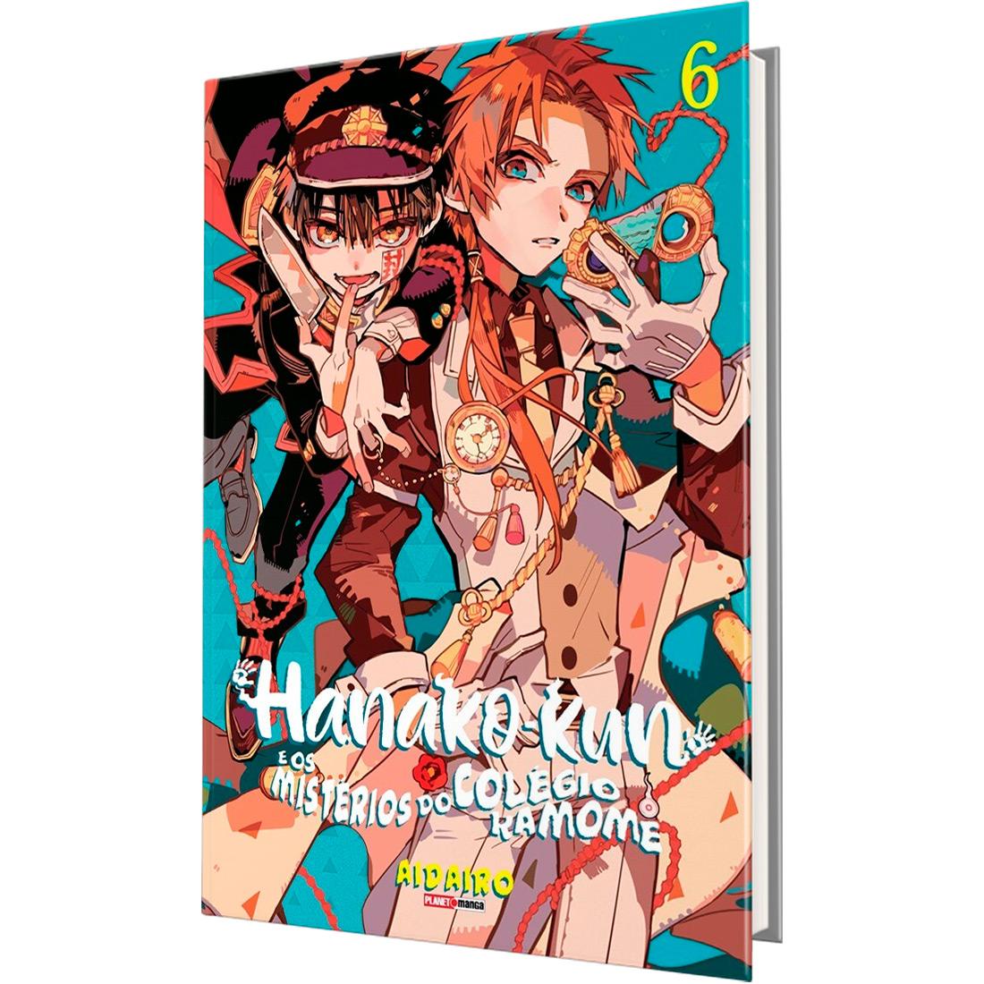 Box Hanako-Kun e os Mistérios do Colégio Kamome Vols. 2 ao 6