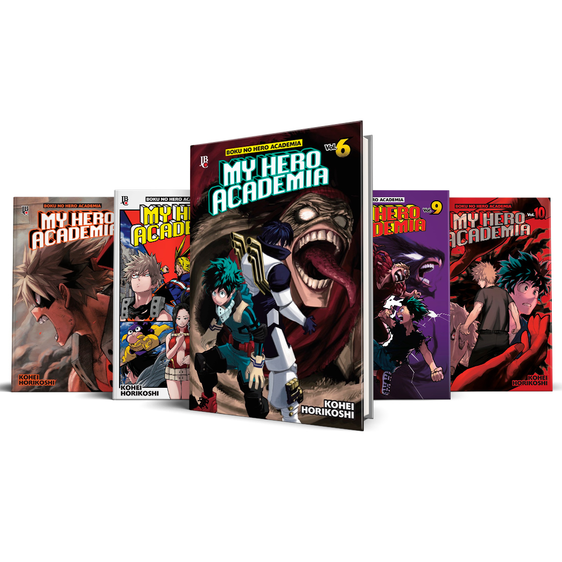 Box My Hero Academia Vols. 6 ao 10