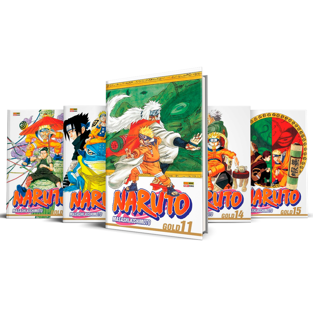 Box Naruto Gold Vols. 11 ao 15