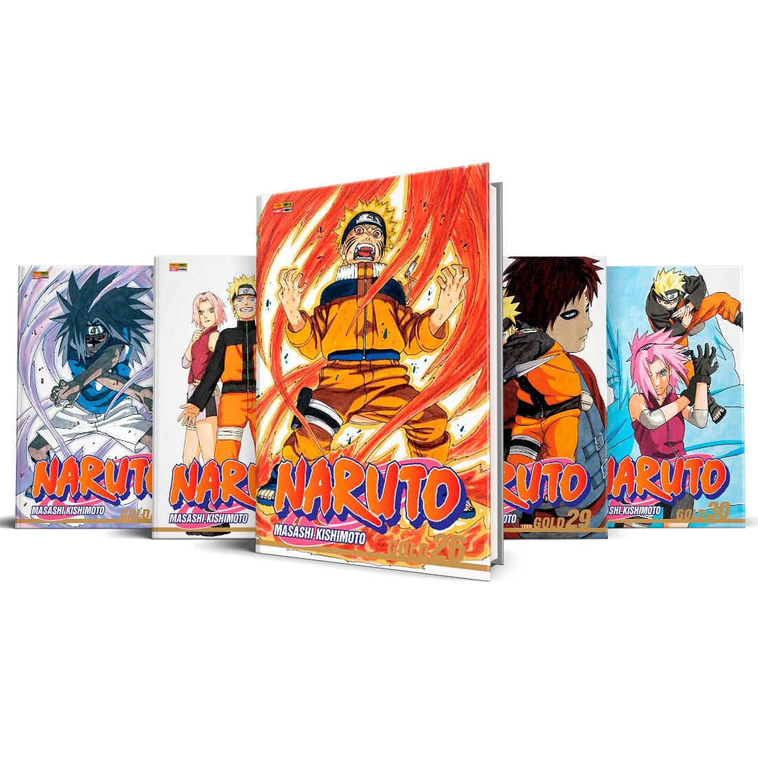 Box Naruto Gold Vols. 26 ao 30