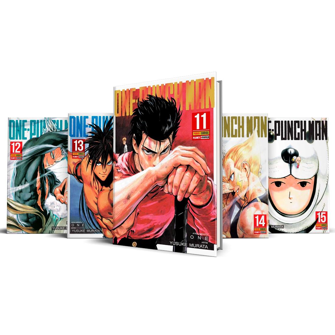 Box One Punch-Man Vols. 11 ao 15
