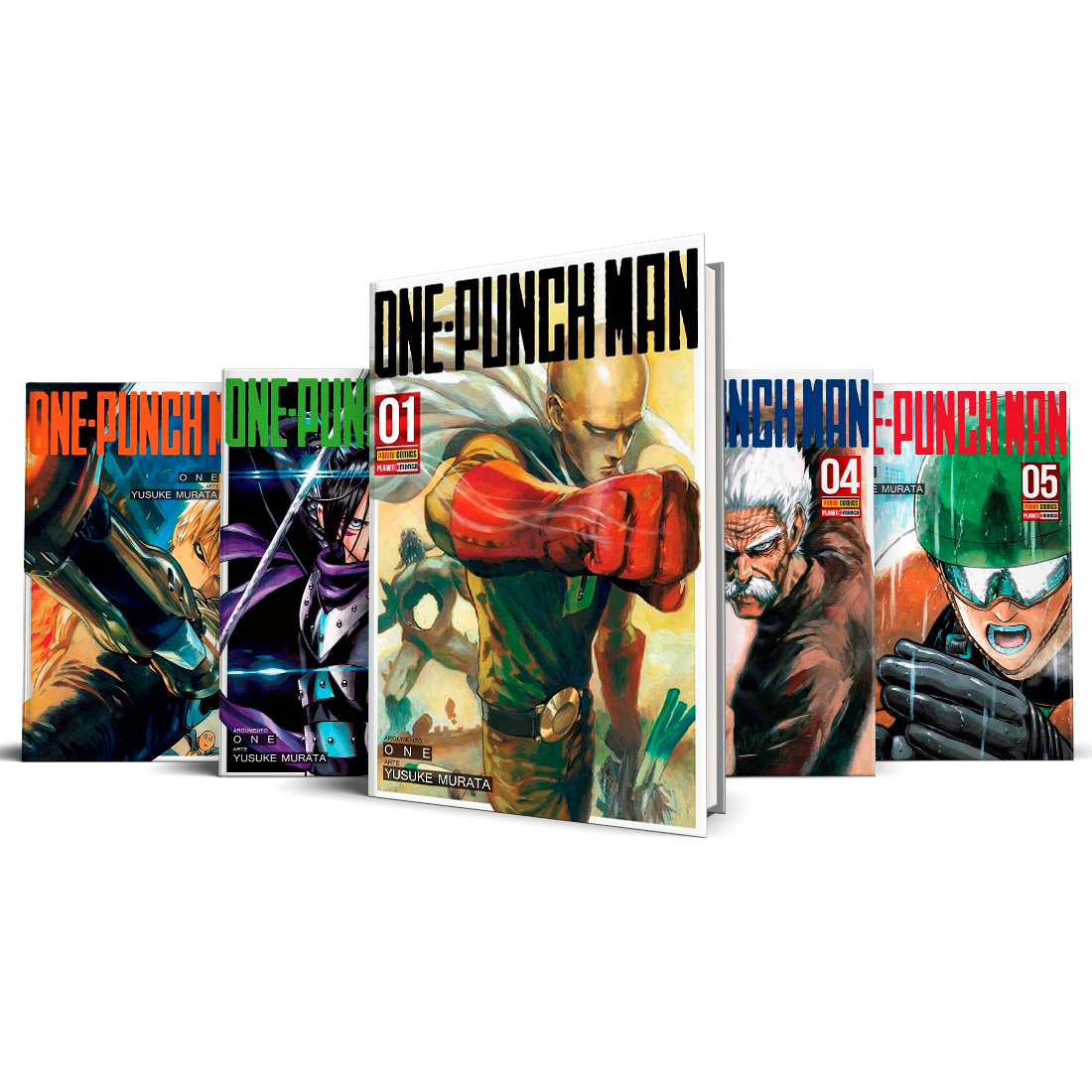 Box One Punch-Man Vols. 1 ao 5