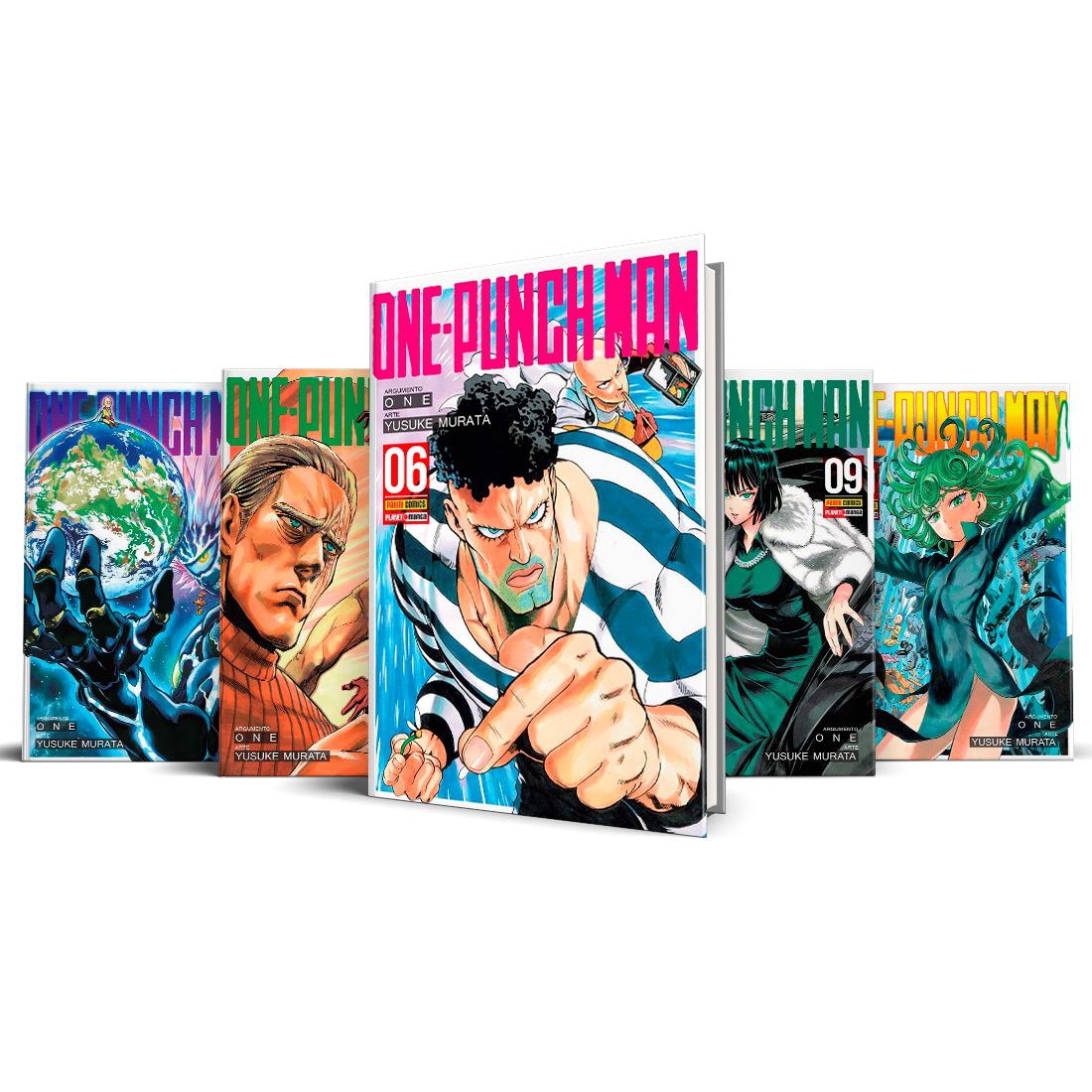 Box One Punch-Man Vols. 6 ao 10