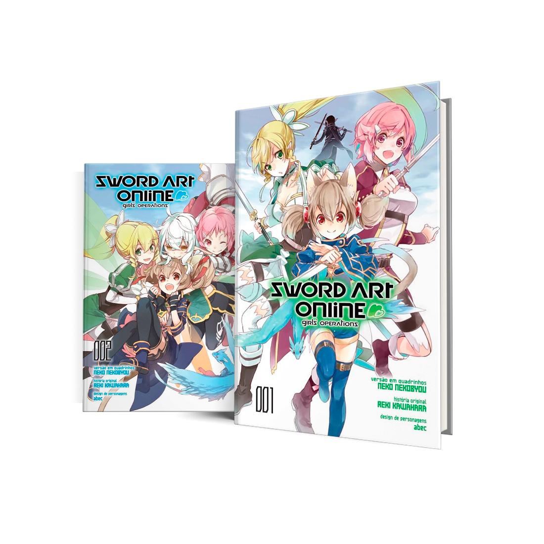 Box Sword Art Online - Girls' Operations Vols. 1 e 2