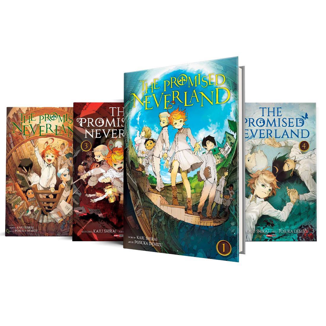 Box The Promised Neverland Vols. 1 ao 4