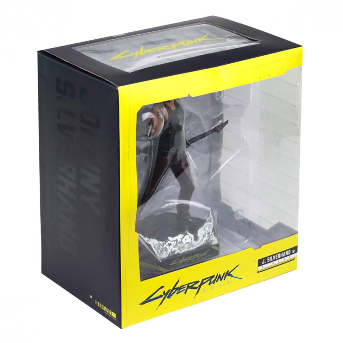 Dark Horse Deluxe Cyberpunk 2077 Collectible Figure Johnny Silverhand