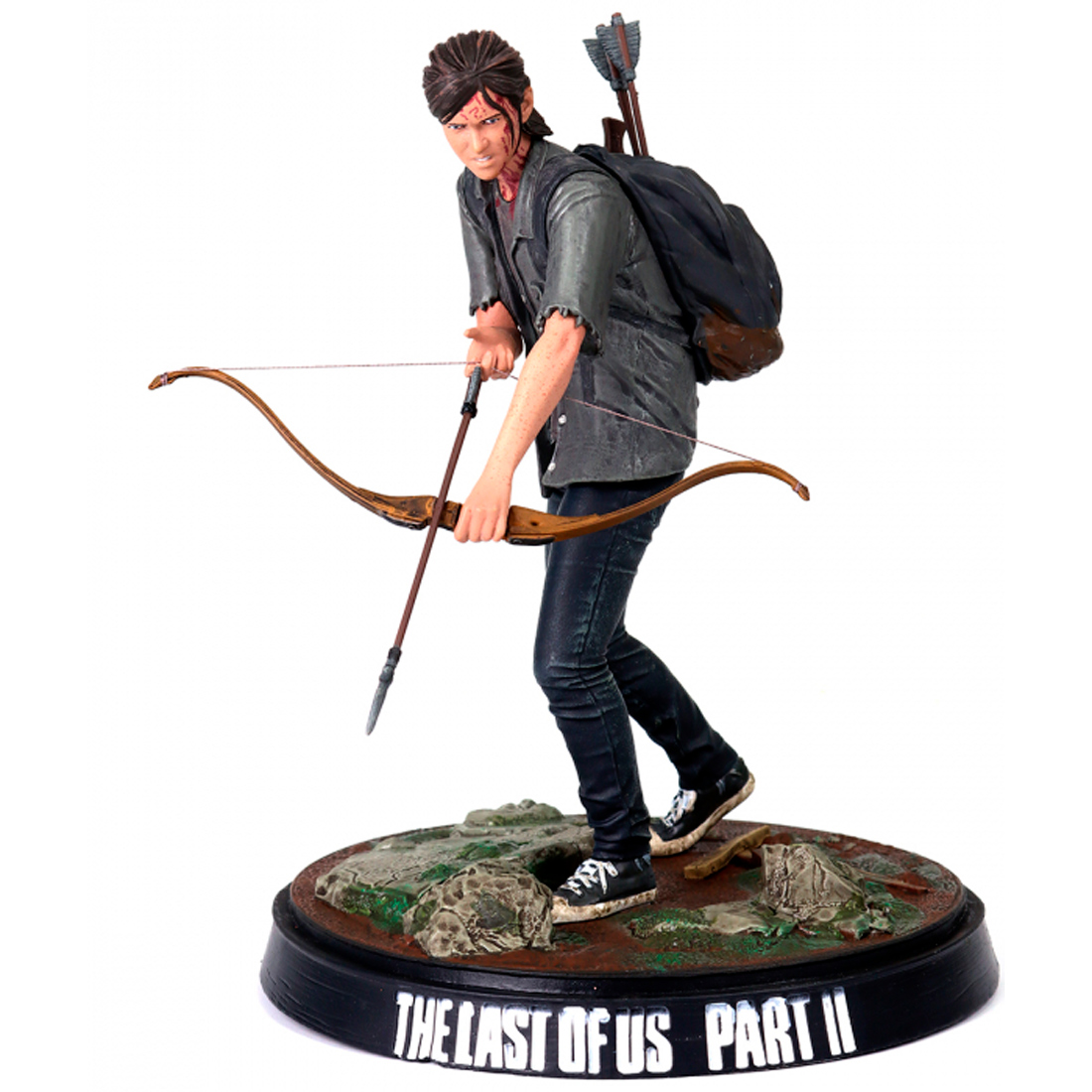 Dark Horse Deluxe The Last Of Us Part II Collectible Figure Ellie With Bow