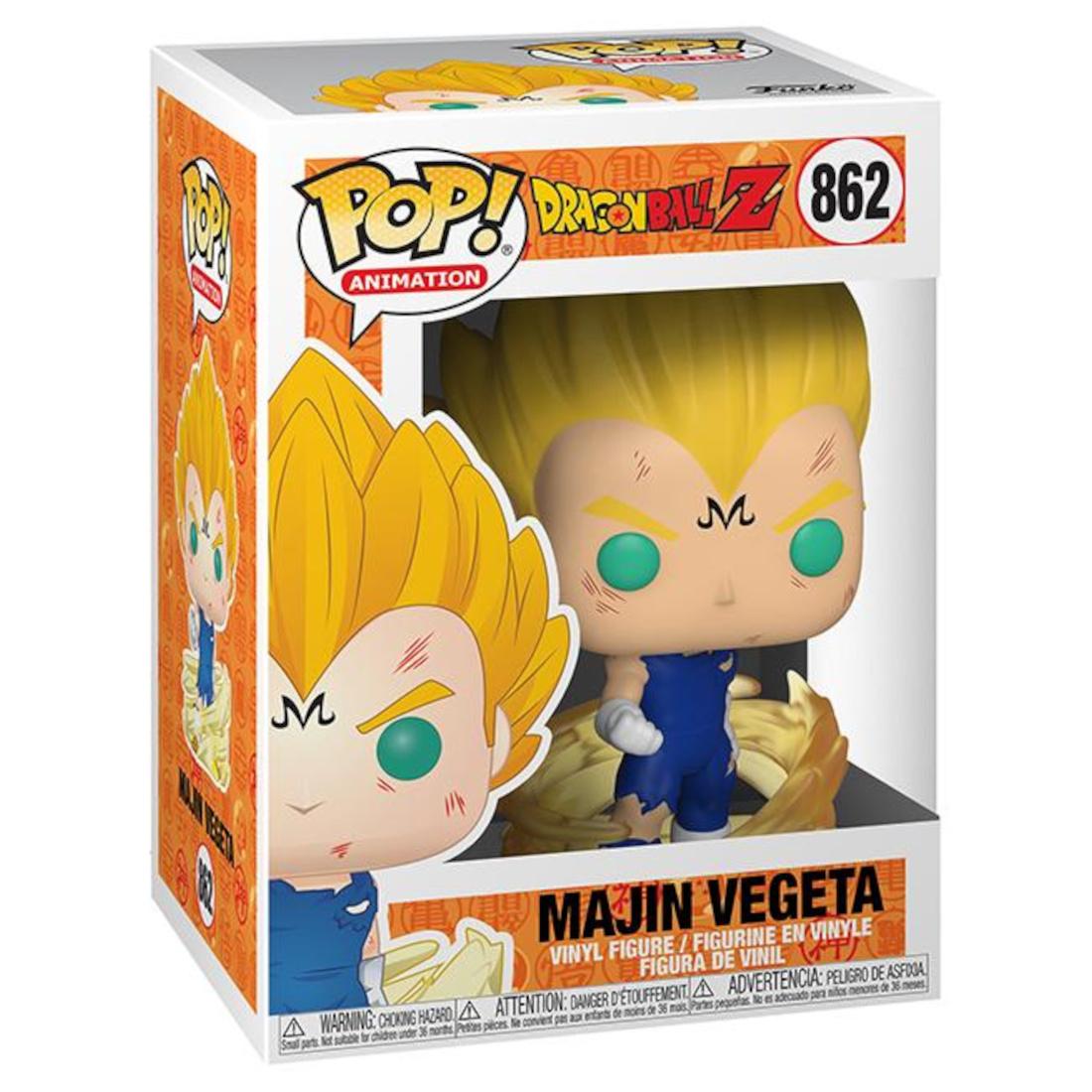 Funko Pop! Animation Dragon Ball Z 862 Majin Vegeta