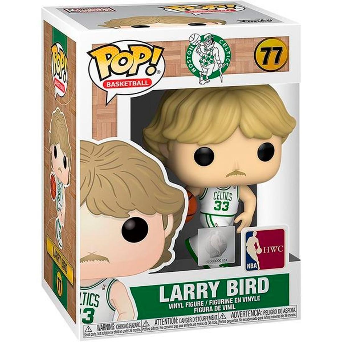 Funko Pop Basketball Boston Celtics 77 Larry Bird