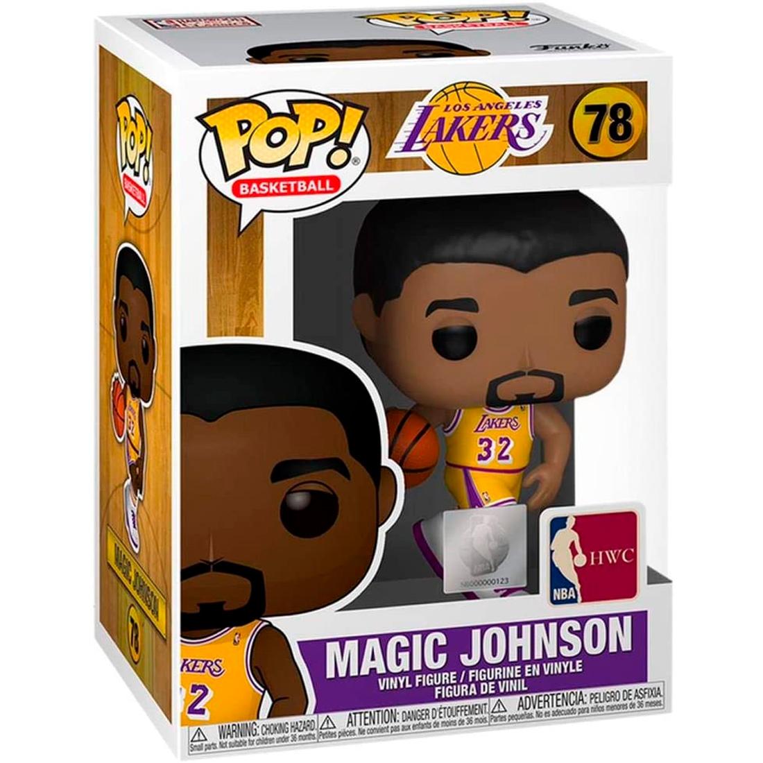 Funko Pop Basketball Los Angeles Lakers 78 Magic Johnson