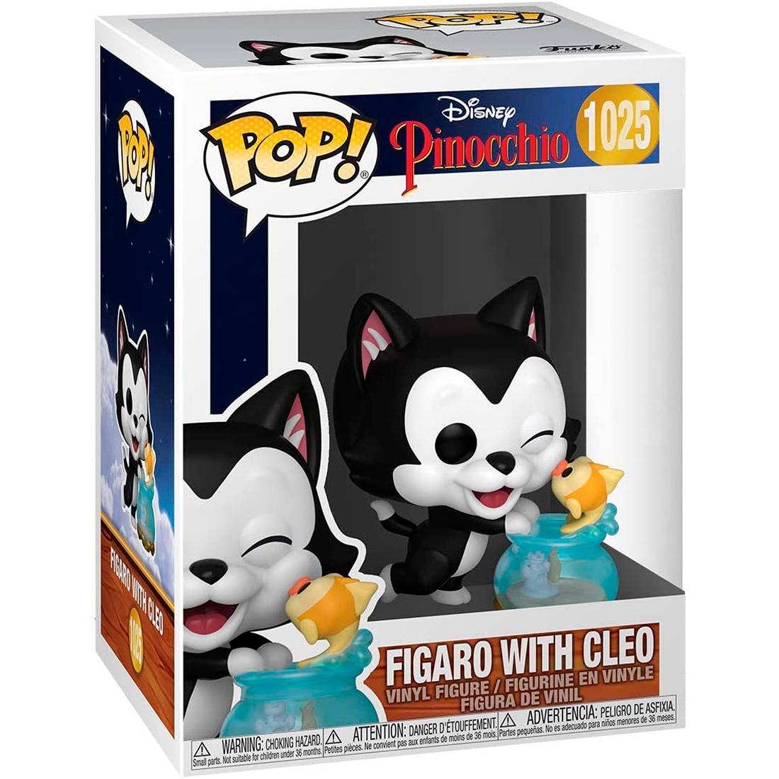 Funko Pop Disney Pinocchio 1025 Figaro With Cleo