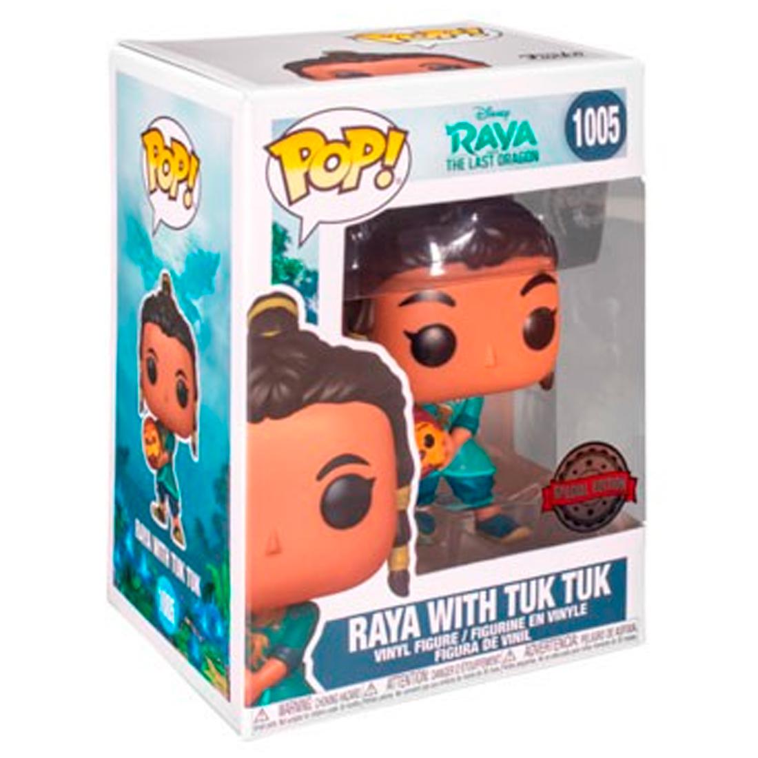 Funko Pop Disney Raya and the Last Dragon 1005 Raya With Tuk Tuk Special Edition