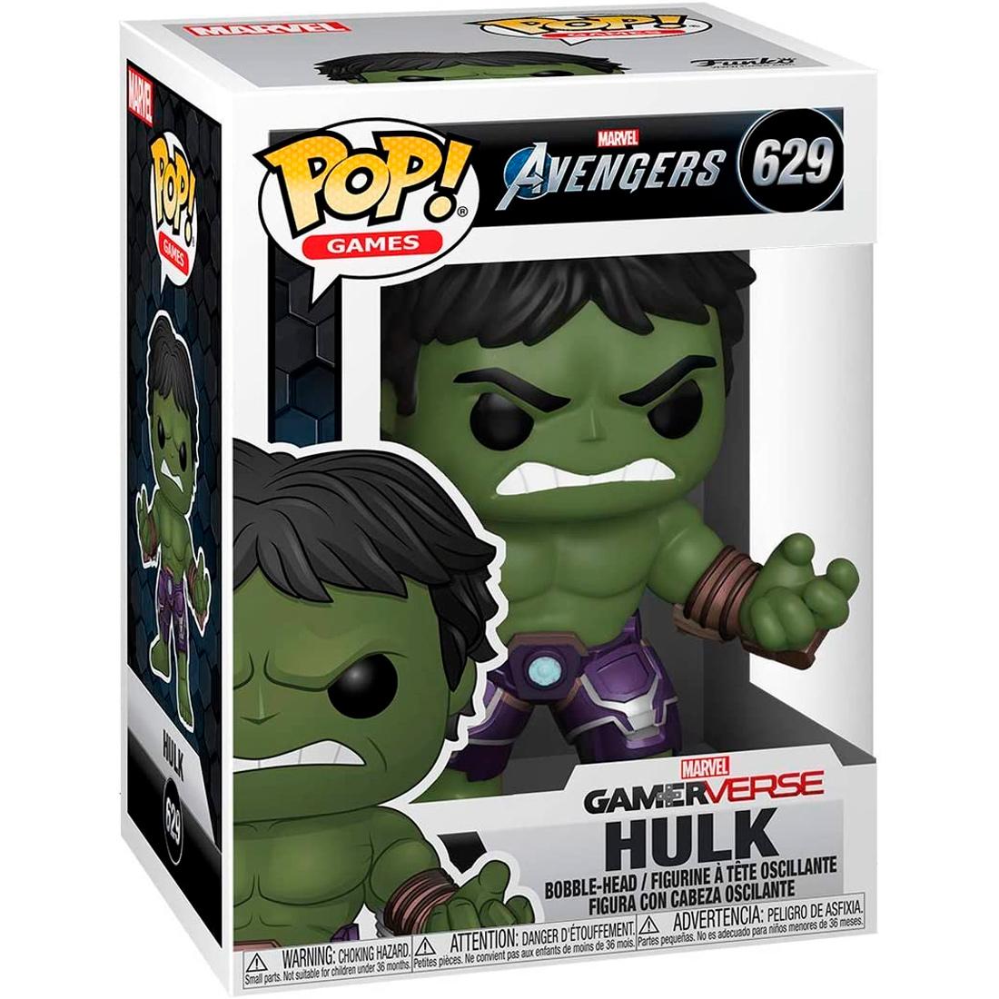 Funko Pop! Games Marvel Avengers 629 Gamer Verse Hulk