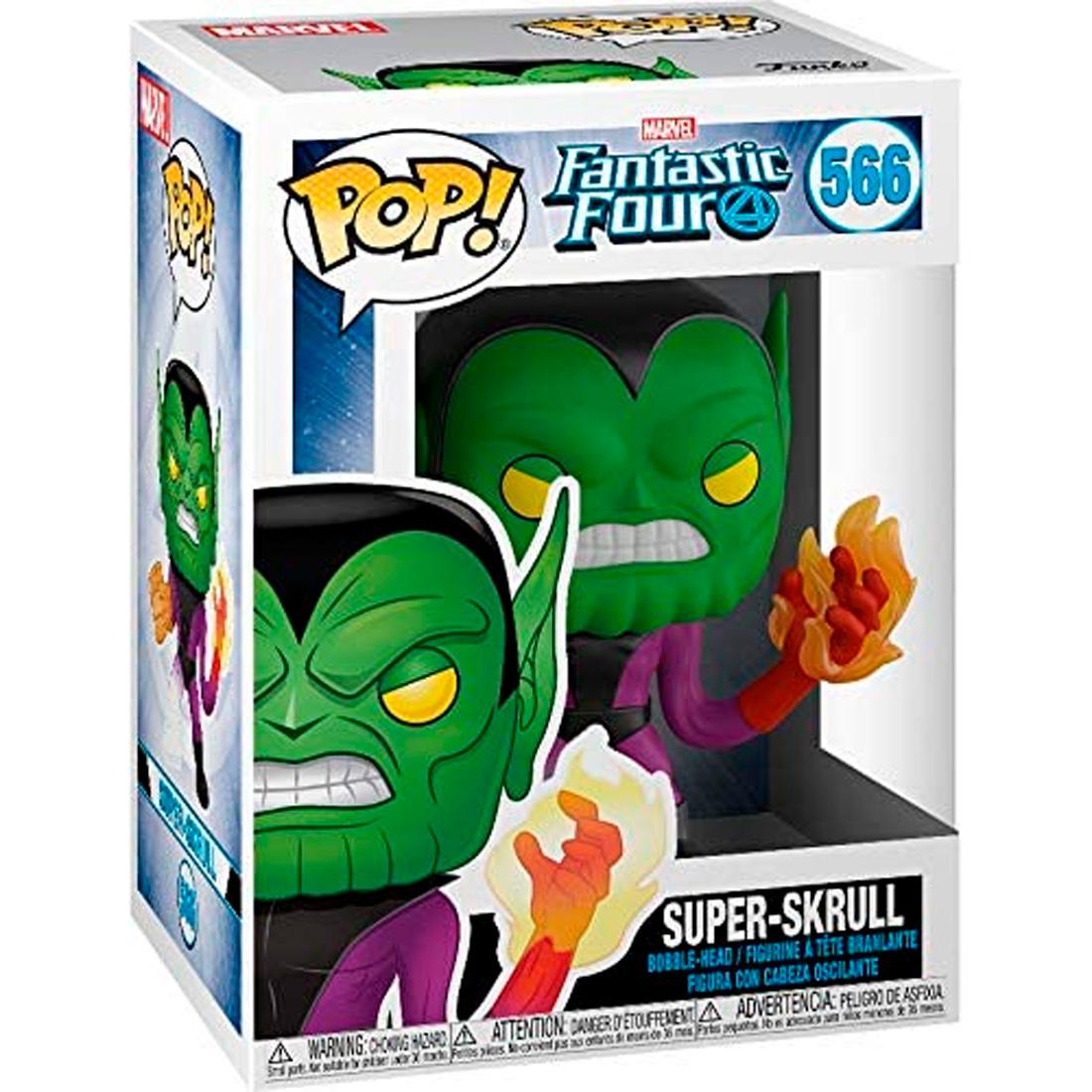 Funko Pop! Marvel - Fantastic Four 566 Super-Skrull