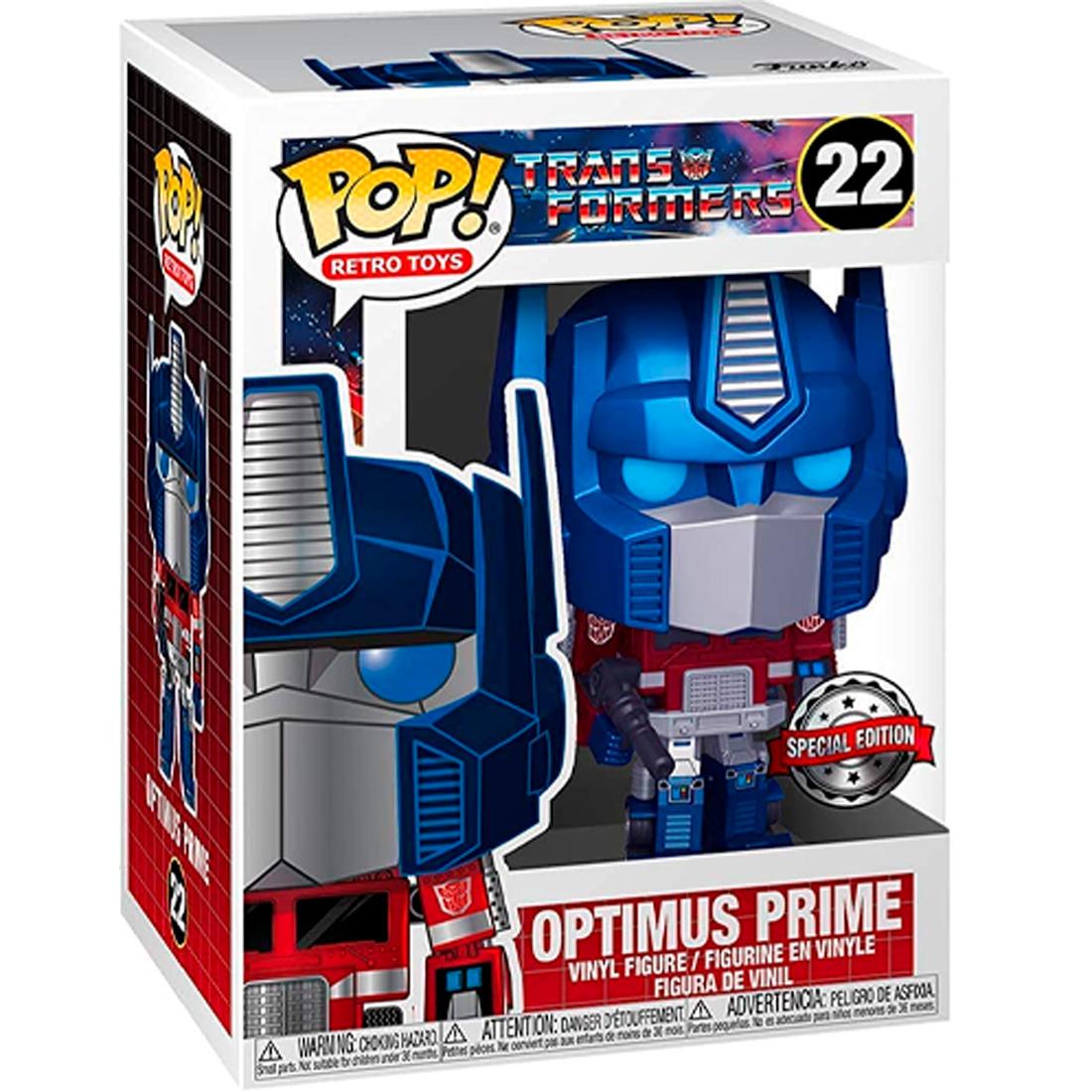 Funko Pop Retro Toys Transformers 22 Optimus Prime Special Edition