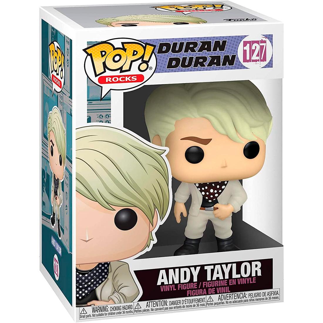 Funko Pop Rocks Duran Duran 127 Andy Taylor