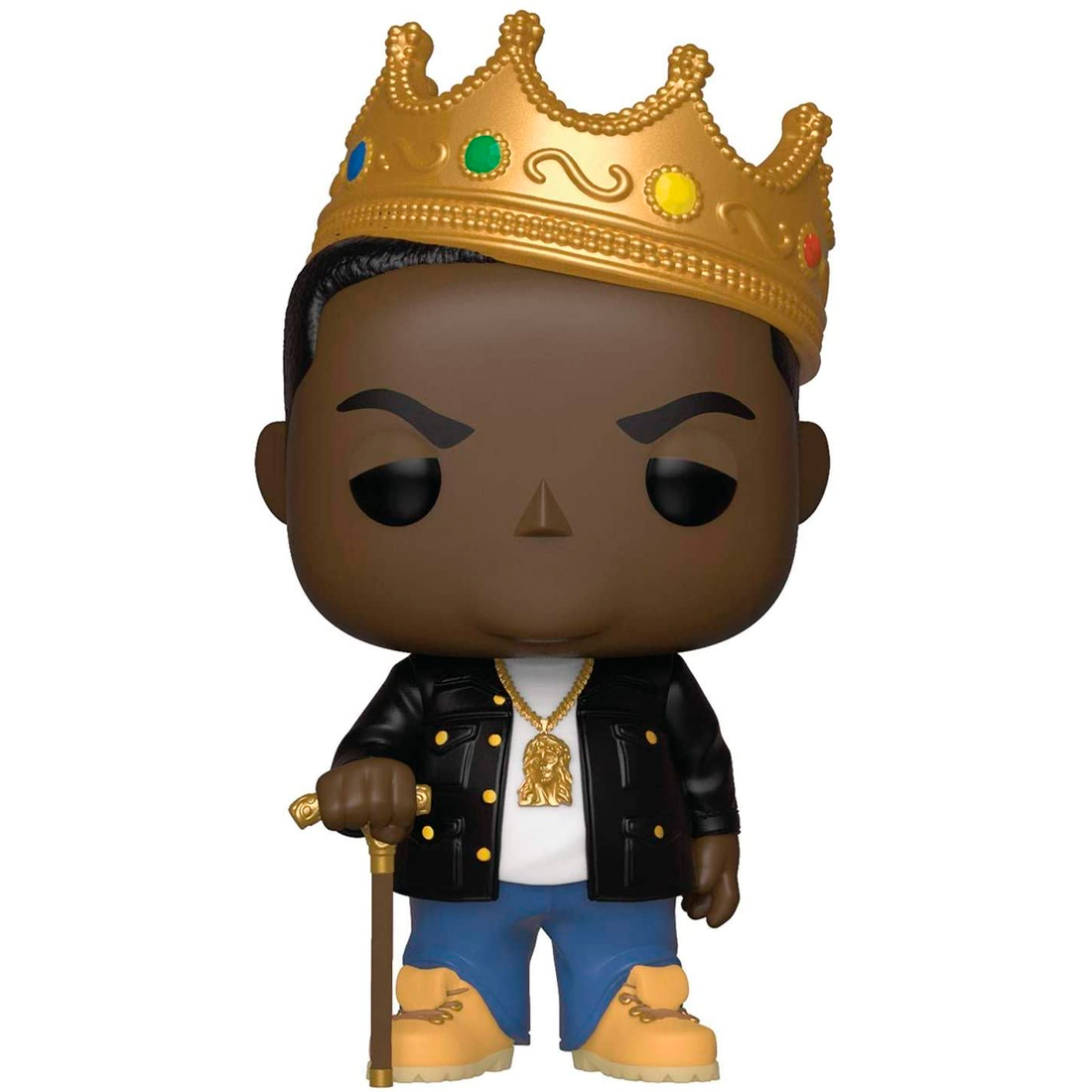 Funko Pop! Rocks The Notorious BIG 77 Notorious BIG With Crown