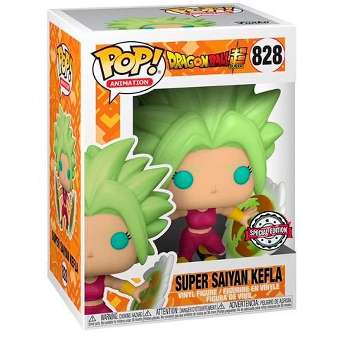 Funko Pop Television Dragon Ball Super 828 Super Saiyan Kefla Special Edition