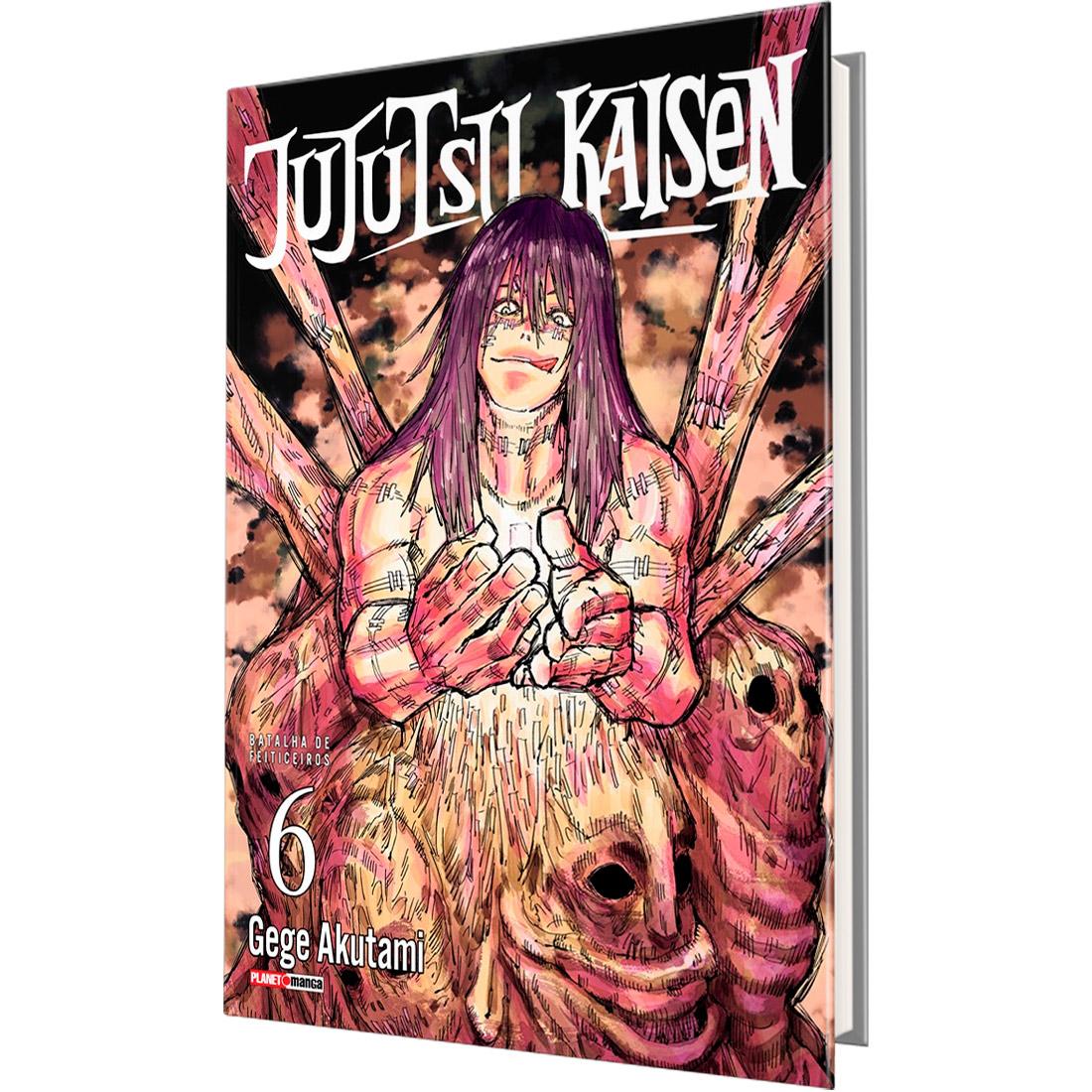 Jujutsu Kaisen - Batalha de Feiticeiros Vol. 6