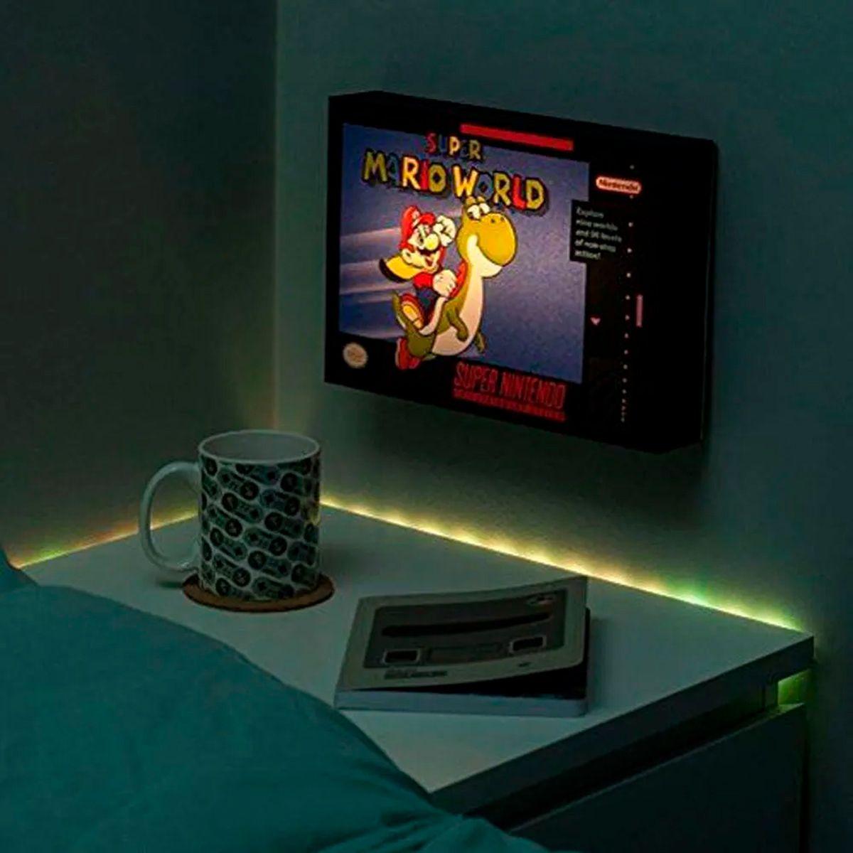 Luminária Super Mario World Light 3D Super Mario World Paladone