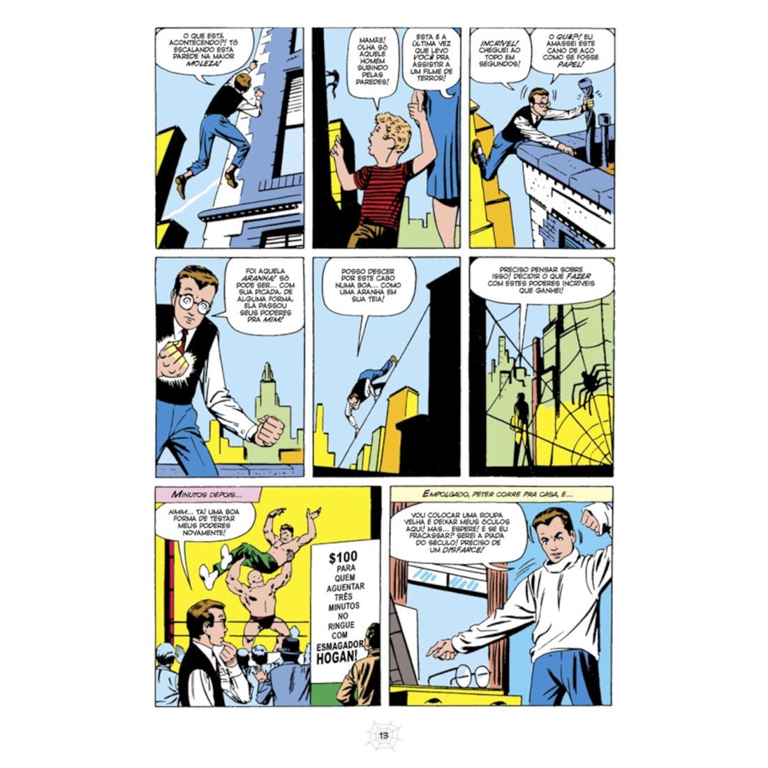 O Espetacular Homem-Aranha Edição Definitiva Vol. 1