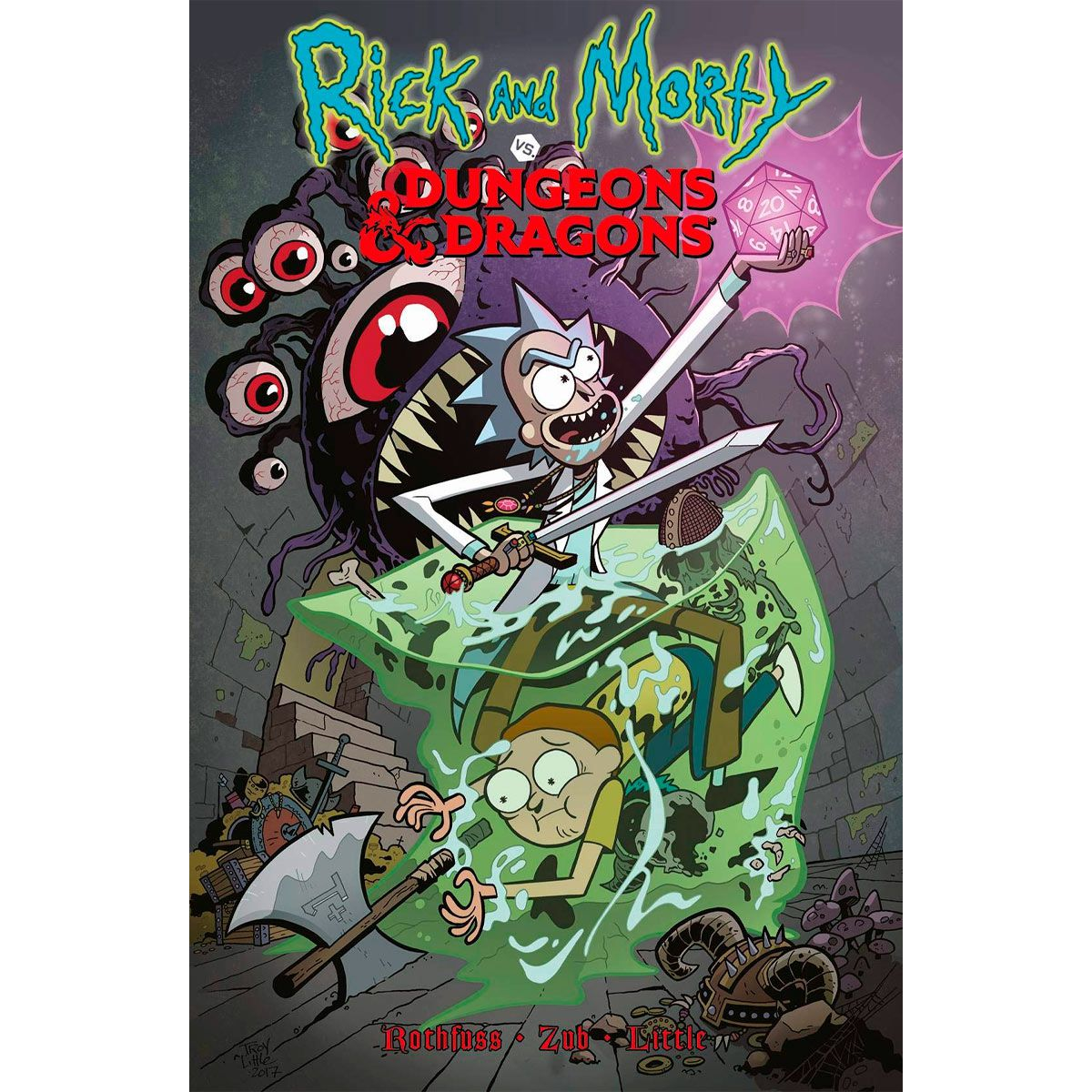 Rick and Morty vs Dungeon and Dragons