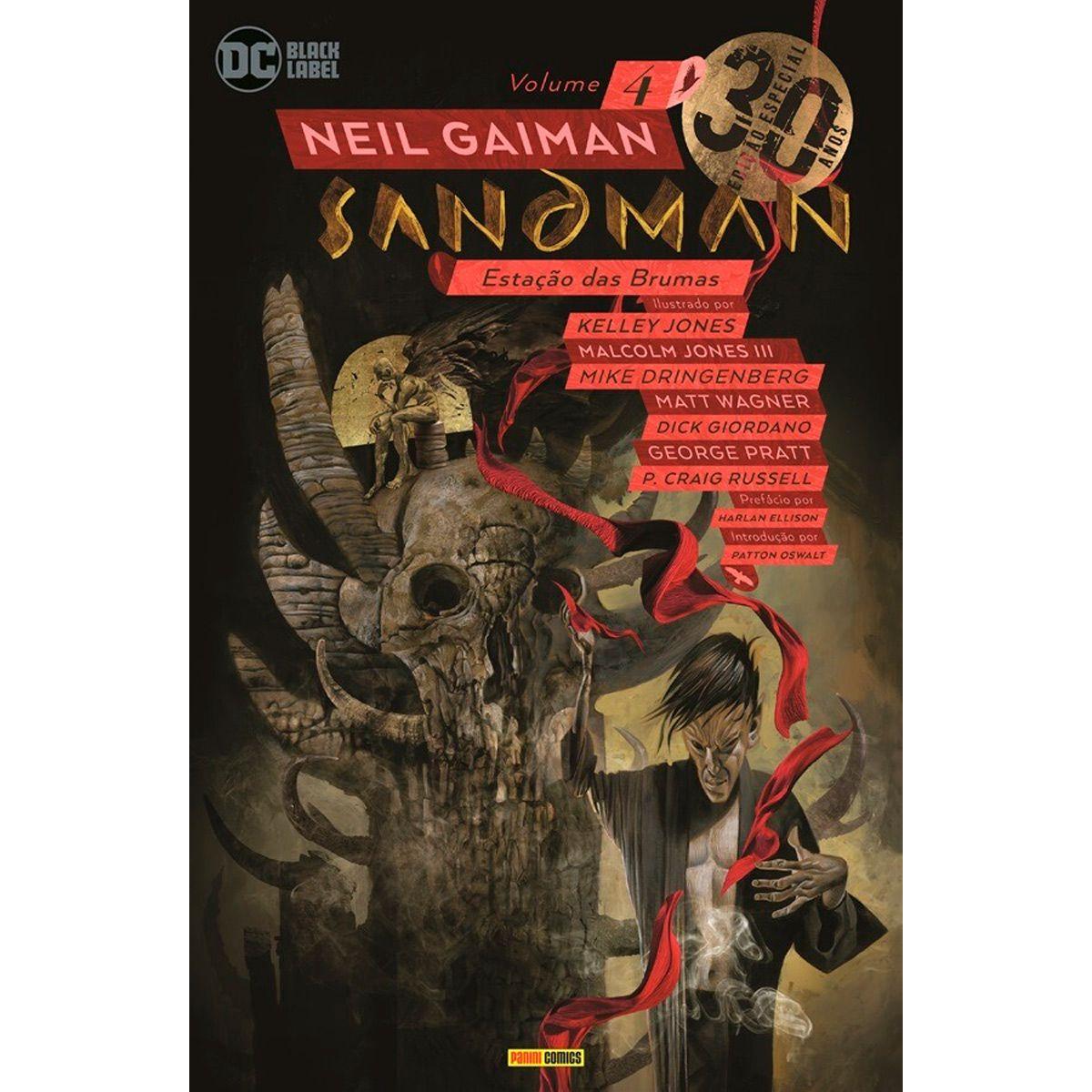 Sandman Estação das Brumas Vol 4 Edição Especial 30 Anos