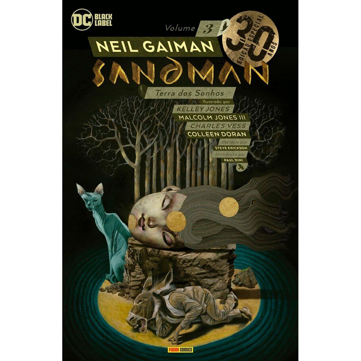 Sandman Vol. 3 - Edição Especial de 30 Anos - Terra dos Sonhos