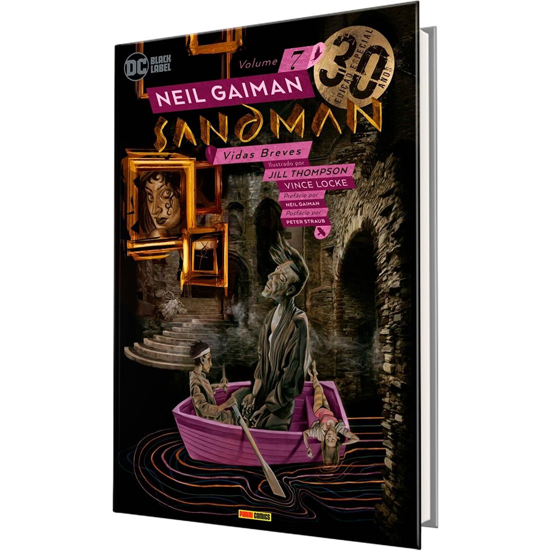Sandman Vol. 7 - Edição Especial de 30 Anos - Vidas Breves