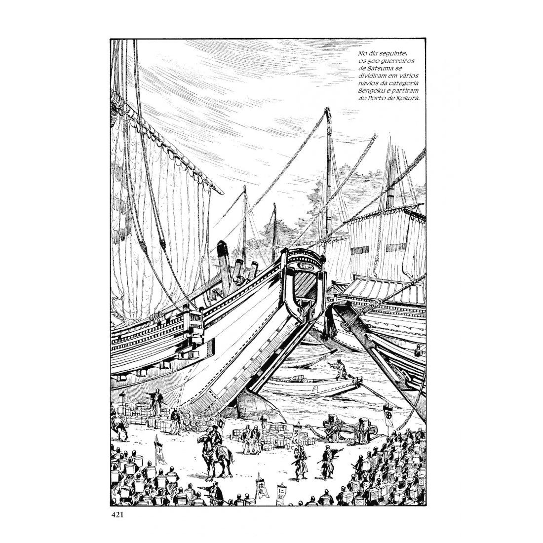 Satsuma Gishiden - Crônicas dos Leais Guerreiros de Satsuma Vol. 1