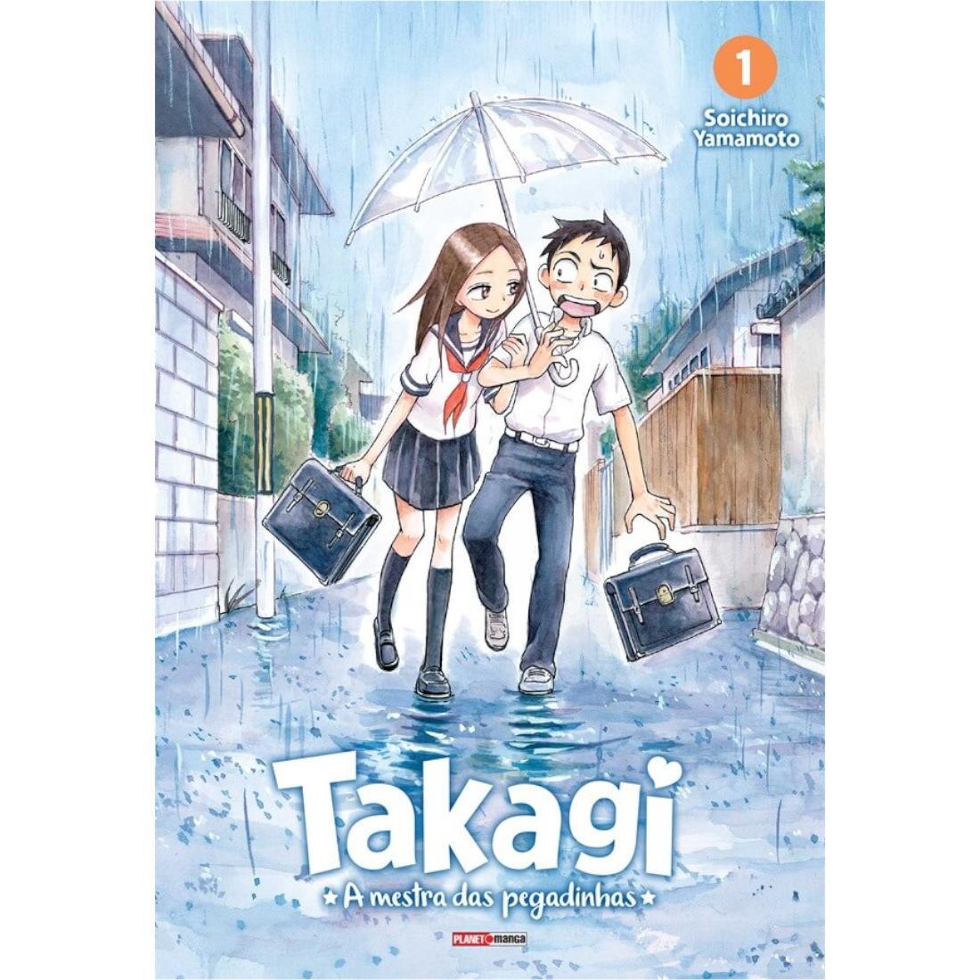 Takagi - A Mestra das Pegadinhas Vol. 1