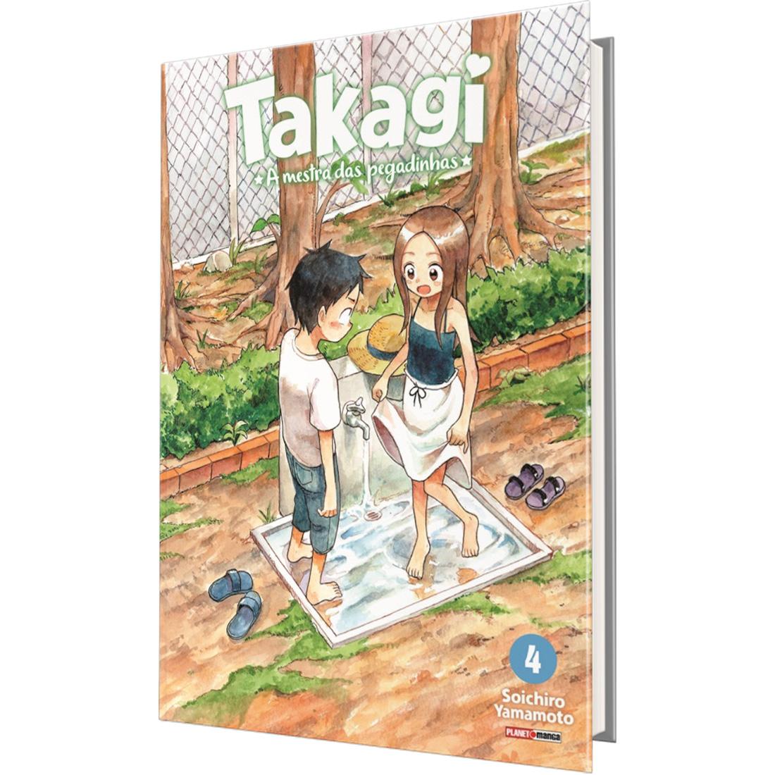 Takagi - A Mestra das Pegadinhas Vol. 4