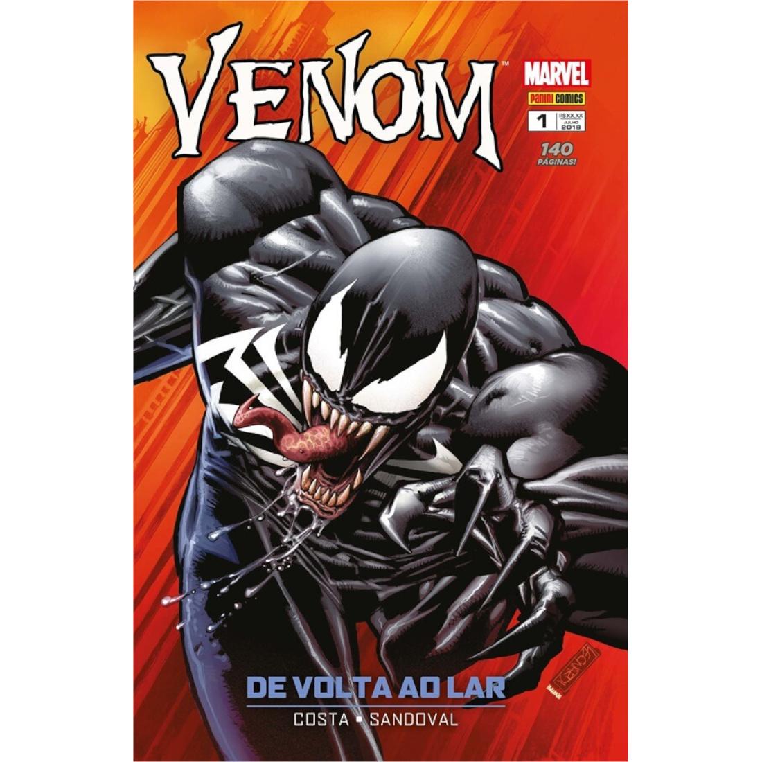 Venom Vol. 1 - De Volta ao Lar