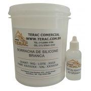 Borracha de Silicone para moldes  Branca 10kgs com catalisador - Terac