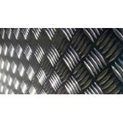 Chapa Xadrez de Alumínio esp. 1,2mm - 2,00 x 1,25m ( Peça)