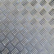 Chapa Xadrez de Alumínio esp. 1,2mm - 2,50 x 1,00m ( Peça)