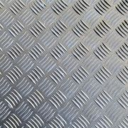 Chapa Xadrez de Alumínio esp. 1,5mm - 2,50 x 1,00m ( Peça)
